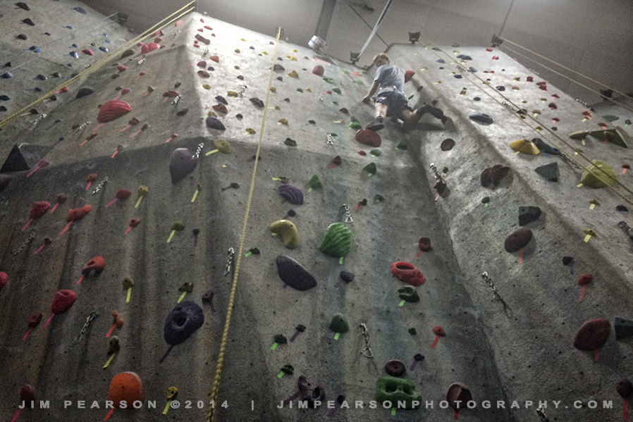 07.25.14 iPhone Challenge-Kenneth on the Wall