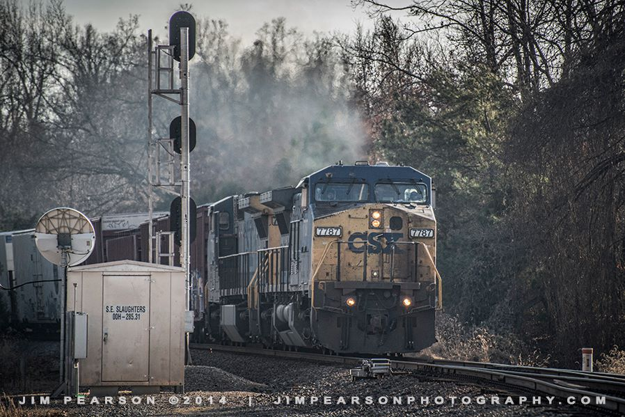 December 20, 2014 - CSX Q648, with engine 7787