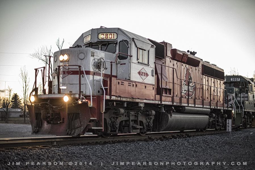 01.07.15 PAL 3801 UofL Engine at Madisonville, Ky
