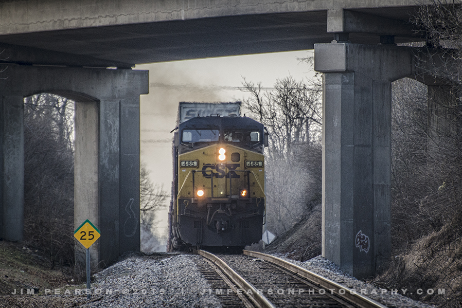 01.20.15 CSX Q028 1 NB at Maidosnville, Ky