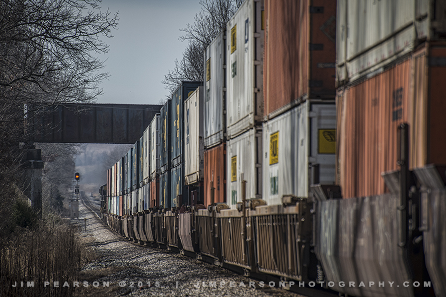 01.20.15 CSX Q029 SB at Monarch, Madisonville, Ky
