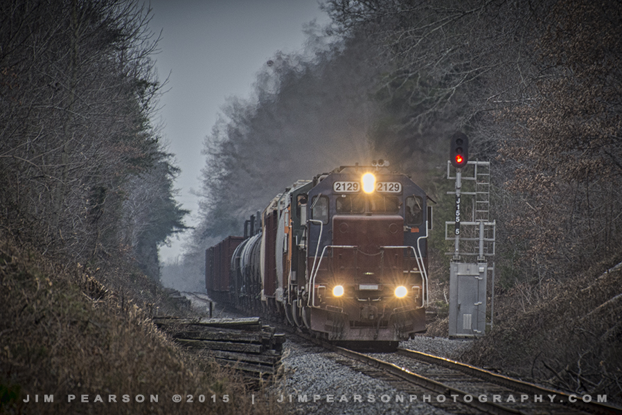 01.22.15 PAL Local NB at J155.5, Richland, Ky