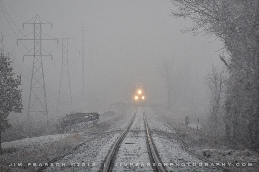 01.23.15 CSX T103 leaving Warrior Coal 1, Madisonville, Ky