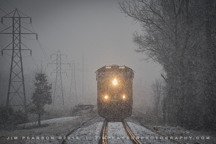 01.23.15 CSX T103 leaving Warrior Coal 2, Madisonville, Ky