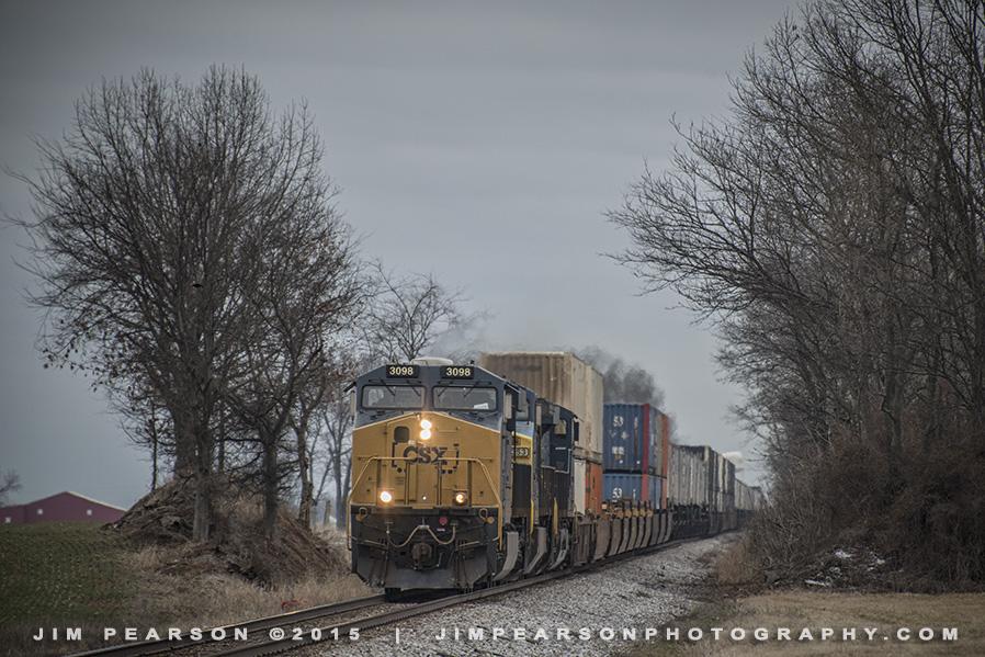 03.09.15 CSX Q026 NB at Pembroke, Ky