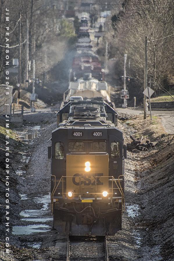 03.16.15 CSX Q588 NB at Madisonville, Ky