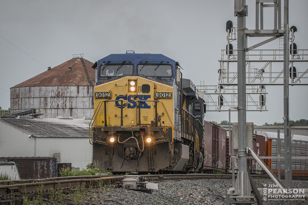 May 25, 2016 - CSX Automotive train Q244 (Louisville, KY - Gibson, IN) moves off the Texas Line onto the on the Henderson Subdivision at Henderson, Ky. - Tech Info: 1/12500 | f/5 | ISO 800 | Lens: Sigma 150-600 @ 150mm on a Nikon D800 shot and processed in RAW.